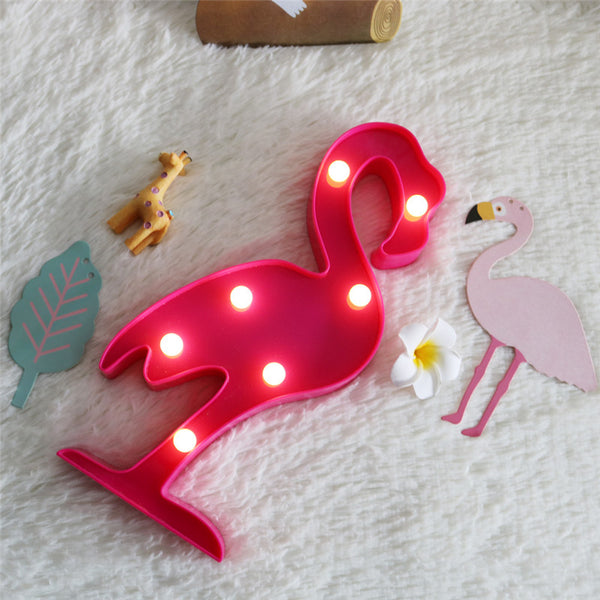Flamingo Led Light-Lightings-Wantalo
