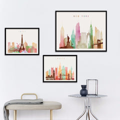 City Lines Color Paintings