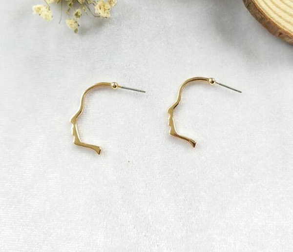 Silhouette Earrings-Earrings-Wantalo