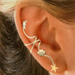Galaxy Ear Cuff Non-pierced Earring