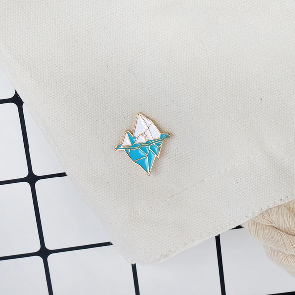 Iceberg Enamel Pin-Pins & Patches-Wantalo