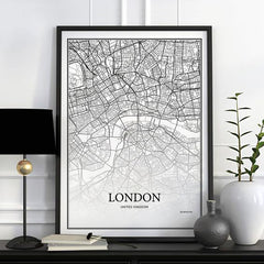 London's Map Painting