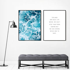 Inspirational Ocean Painting