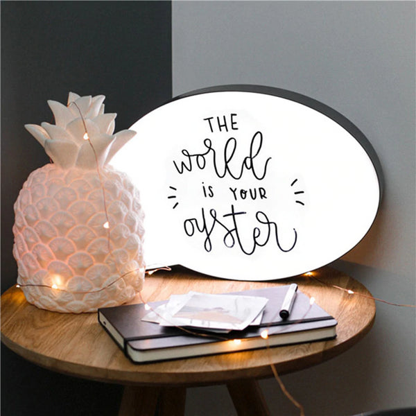 Message Light Box A4 Size-Lightings-Wantalo