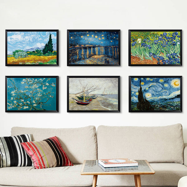 Starry Night over the Rhône, Painting-Paintings-Wantalo