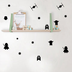 Star Wars Cute Wall Stickers