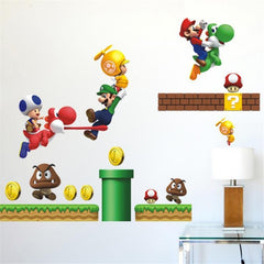 Super Mario Bros Wall Sticker