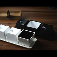 Ctrl-Alt-Del Keyboard Keys Cup Set