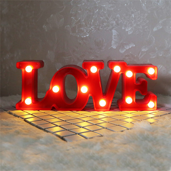 Love Led Light-Lightings-Wantalo