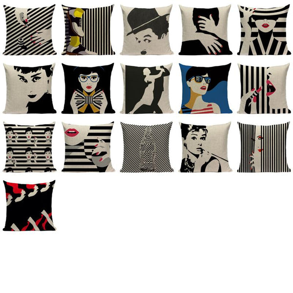 Fashion Holiday Pillowcase-Pillows-Wantalo