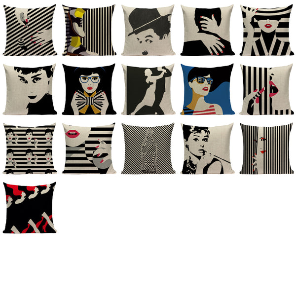Fashion Dance Pillowcase-Pillows-Wantalo