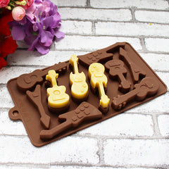Guitars Ice Cube Tray