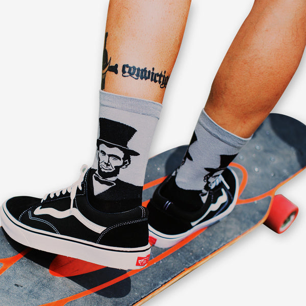 Cotton Skate Socks-Socks-Wantalo