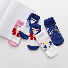 Sailor Moon's Ankle Socks