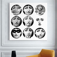 Fornasetti's Design Wall Art Canvas