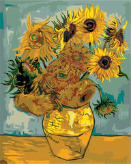 The Sunflowers, Paint by Numbers Kit