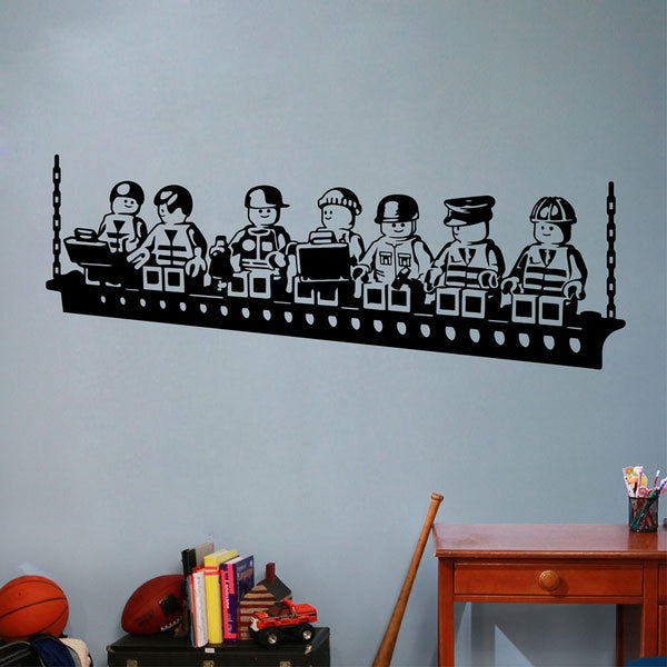 Lego Workers Wall Sticker - Wall Stickers - wantalo.com
