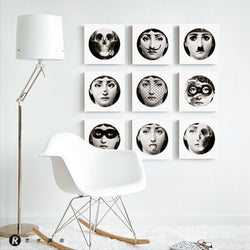 New Fornasetti's Design Wall Art Canvas