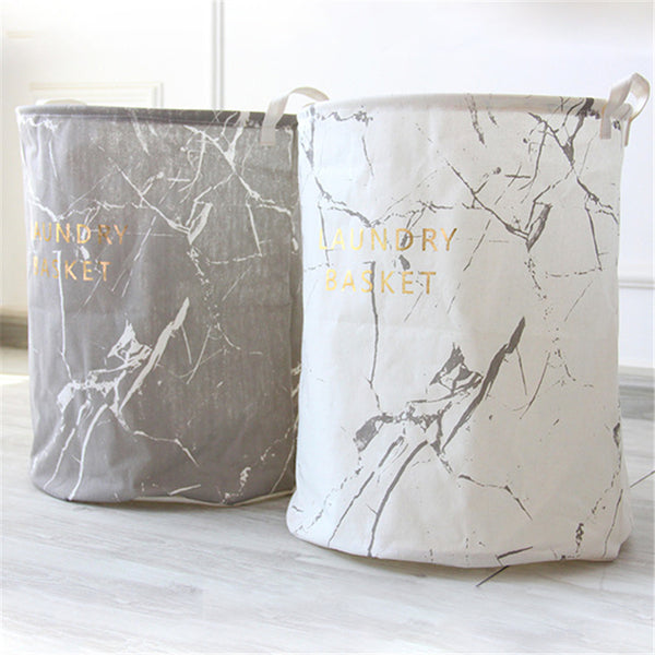 Marble Design Laundry Basket - Storage Solutions - wantalo.com