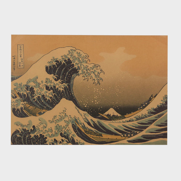 Hokusai's Great Wave Poster-Posters-Wantalo