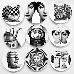 Fornasetti Decorative Dishes 8'' - 20cm