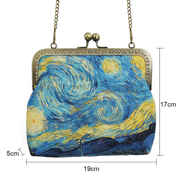 Starry Nights Cross Body Bag-Bags-Wantalo