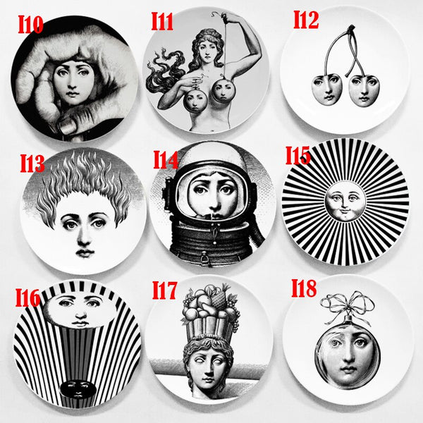 Fornasetti Decorative Dishes 6''- 15cm