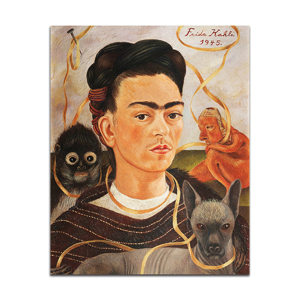 Frida Kahlo Self Portraits Paintings - Paintings - wantalo.com
