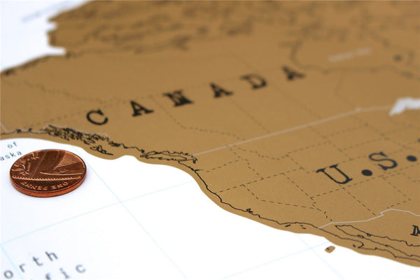 Scratch Off World Map-Posters-Wantalo