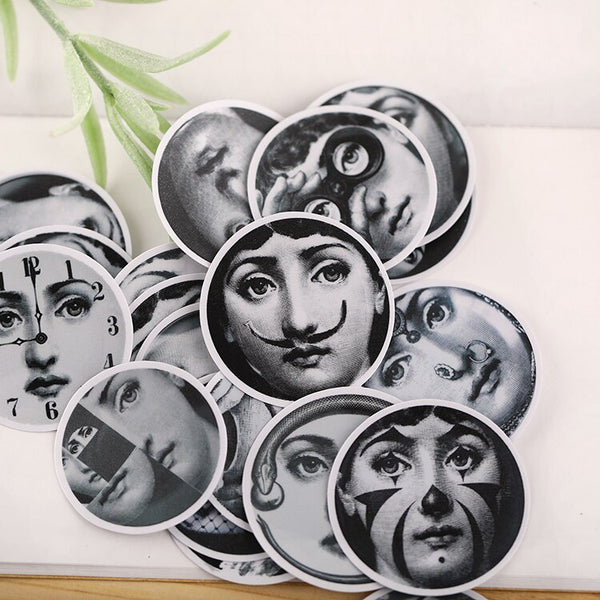 Fornasetti Stickers 22 pcs
