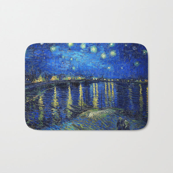 Starry Night Over the Rhône Mat-Mats-Wantalo