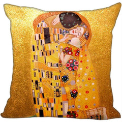 The Kiss, Decorative Pillowcase