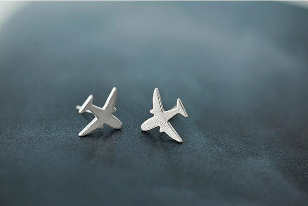 Airplane Earrings-Earrings-Wantalo