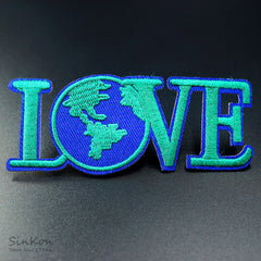 Love Earth Iron-on Patch