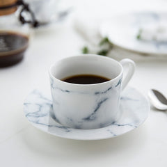 Marble Design Coffee Cup
