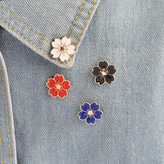 Cherry Blossoms Enamel Pins