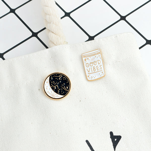Constellation Enamel Pin-Pins & Patches-Wantalo