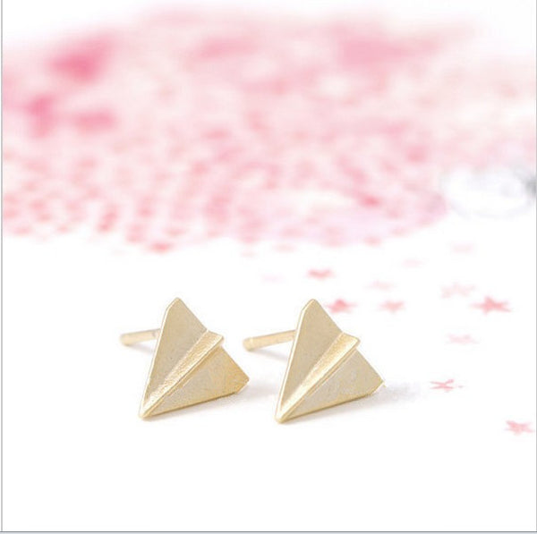 Origami Planes Earrings-Earrings-Wantalo