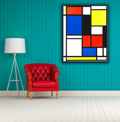 Tableau II by Mondrian, Painting