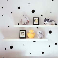 Mixed Dots Wall Decals 108 pcs