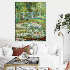 The Japanese Footbridge, Painting