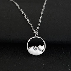 Top Mountain Pendant Necklace