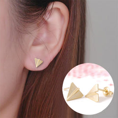 Origami Planes Earrings