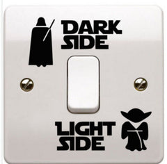 Dark and Light Side, Star Wars Switch Sticker