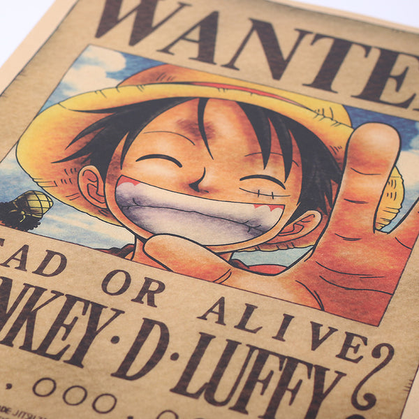 One Piece Vintage Poster-Posters-Wantalo
