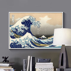 The Great Wave, Painting