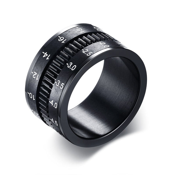 Camera Lens Men Ring - Rings - wantalo.com