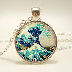 The Great Wave Pendant Necklace