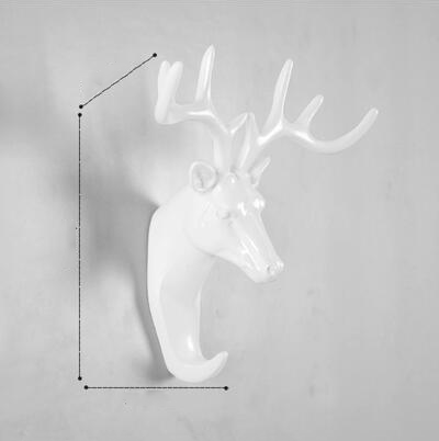 Animals Wall Hooks - White-Storage Solutions-Wantalo