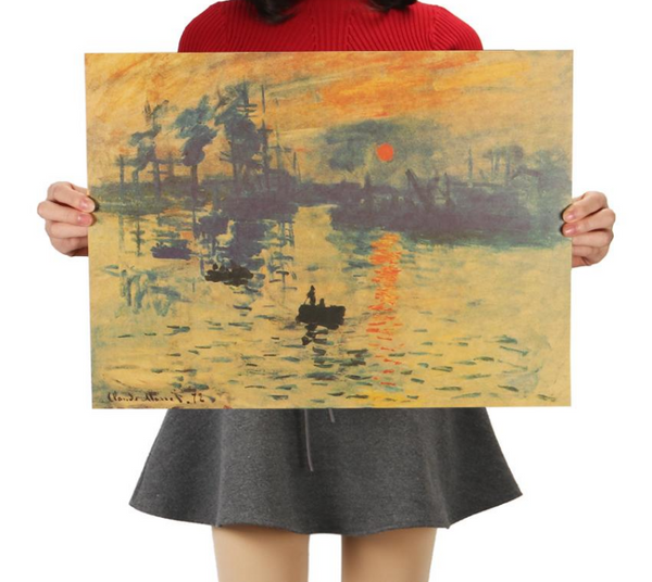 Impression - Sunrise, Poster-Posters-Wantalo